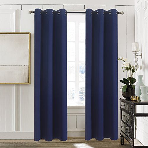 Aquazolax Blackout Curtains Are Made Of 100 Polyester They Provide Excellent Insulation Against Heat And Cold Also Block Light Sound To Give You
