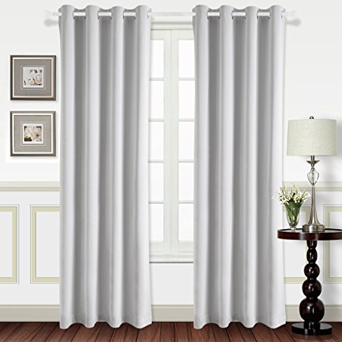 Best Dreamcity Blackout Curtains For Living Room U2013 Easy Care Solid Thermal  Insulated Grommet Room Darkening Curtains