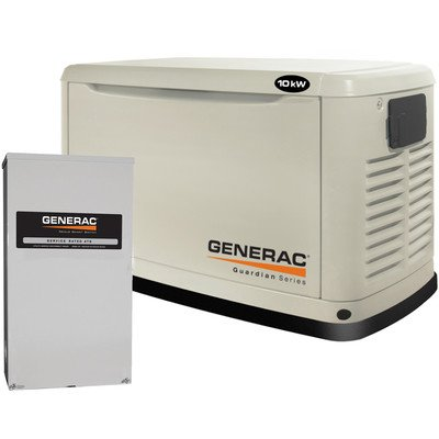 The Last Whole House Generator On Our List Is Another Generac Product, The  11,000 Watt 6438. Despite Having A Smaller Watt Capacity, This Whole House  ...